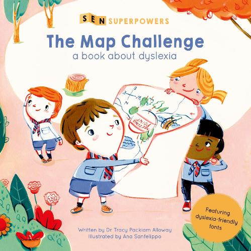The Map Challenge: A Book about Dyslexia - SEN Superpowers (Paperback)