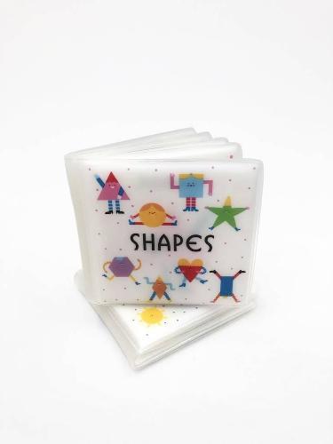 First Concept Bath Book: Shapes - First Concept Bath Books