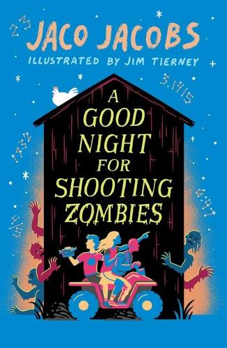 A Good Night for Shooting Zombies: with glow-in-the-dark cover (Paperback)