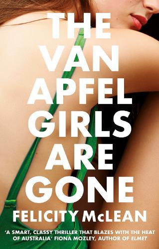 The Van Apfel Girls Are Gone (Hardback)