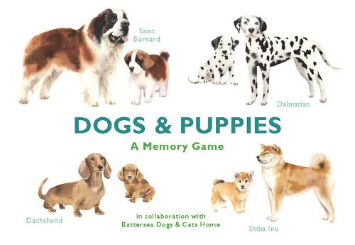 Dogs & Puppies: A Memory Game