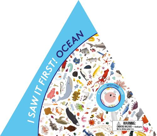 I Saw It First! Ocean: A Family Spotting Game - Magma for Laurence King