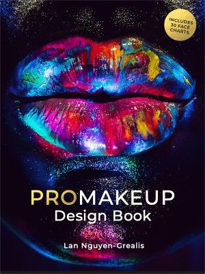 ProMakeup Design Book: Includes 30 Face Charts (Paperback)