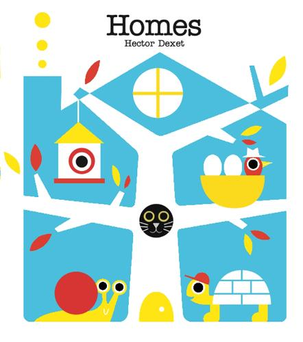 Homes - Read and Play (Board book)