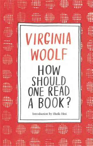 How Should One Read a Book? (Hardback)