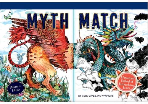 Myth Match Miniature: A Fantastical Flipbook of Extraordinary Beasts - Fantastical Beasts (Hardback)