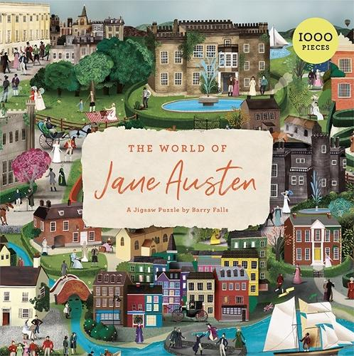 The World of Jane Austen: A Jigsaw Puzzle with 60 Characters and Great Houses to Find