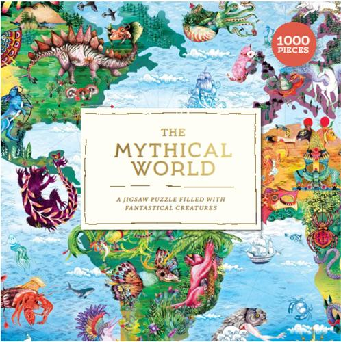 The Mythical World: A Jigsaw Puzzle Filled with Fantastical Creatures