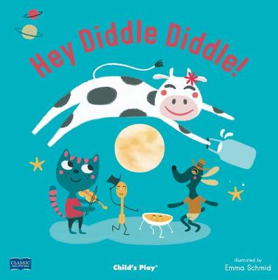 Hey Diddle Diddle - Classic Books with Holes US Soft Cover with CD (Board book)