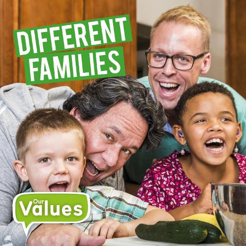 Different Families - Our Values (Hardback)