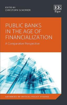 Public Banks in the Age of Financialization: A Comparative Perspective - Advances in Critical Policy Studies Series 2 (Hardback)