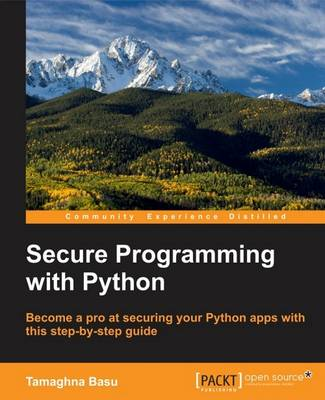 Secure Programming with Python (Paperback)