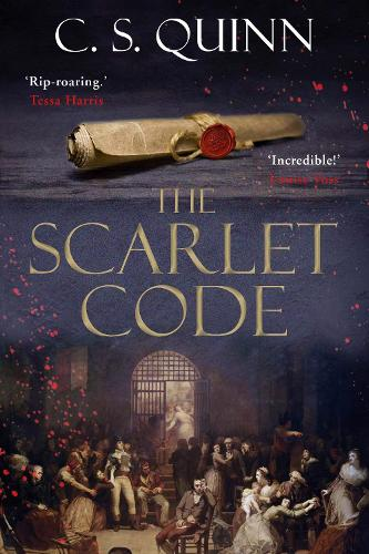 The Scarlet Code - A Revolution Spy series (Hardback)