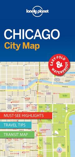 Lonely Planet Chicago City Map - Map (Sheet map, folded)