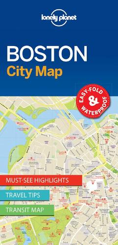 Lonely Planet Boston City Map - Map (Sheet map, folded)