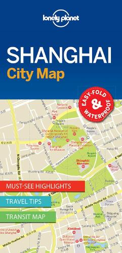 Lonely Planet Shanghai City Map - Map (Sheet map, folded)