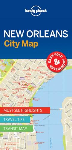 Lonely Planet New Orleans City Map - Map (Sheet map, folded)