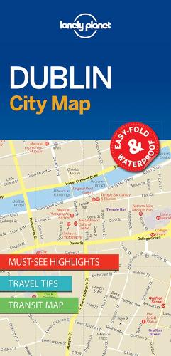 Lonely Planet Dublin City Map - Map (Sheet map, folded)