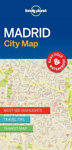 Lonely Planet Madrid City Map - Map (Sheet map, folded)