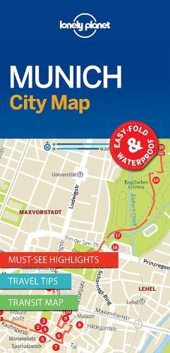 Lonely Planet Munich City Map - Map (Sheet map, folded)