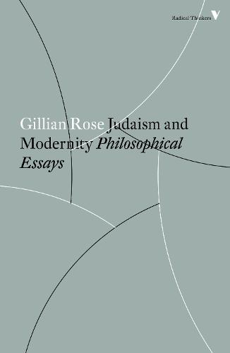 Judaism and Modernity - Radical Thinkers (Paperback)