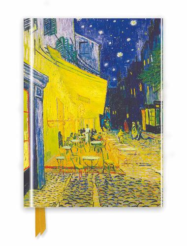 Van Gogh: Cafe Terrace (Foiled Journal) - Flame Tree Notebooks