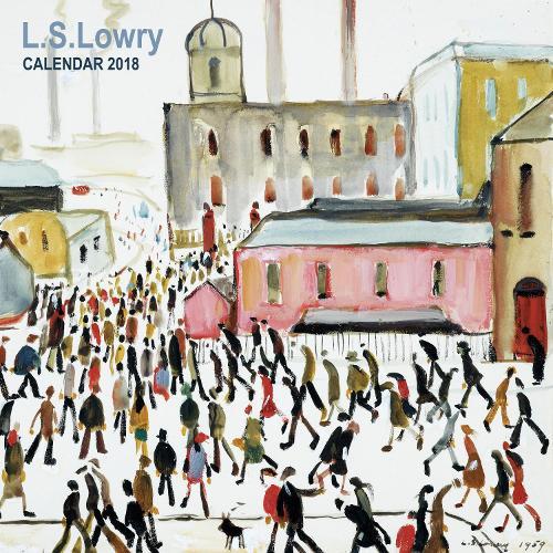 L s lowry wall calendar 2018 art calendar calendar