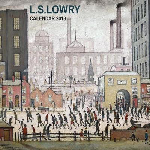 L s lowry mini wall calendar 2018 art calendar