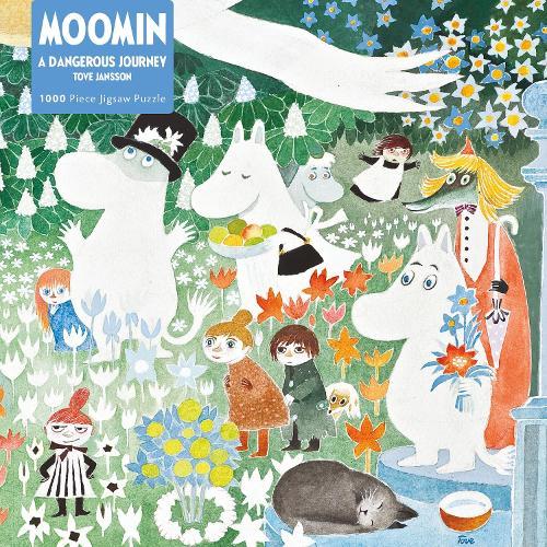 A Dangerous Journey: Moomin 1000 Piece Jigsaw - 1000-piece jigsaws