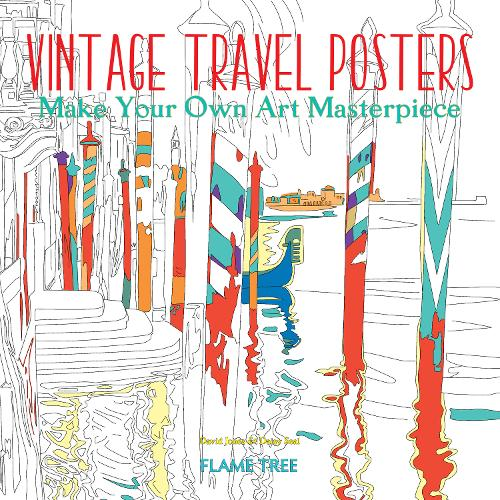Vintage Travel Posters (Art Colouring Book): Make Your Own Art Masterpiece - Colouring Books (Paperback)