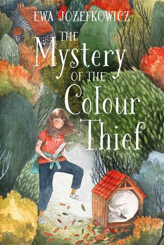 Cover of the book, The Mystery of the Colour Thief.