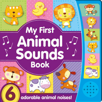 Noisy Baby - My First Animal Sounds (Board book)