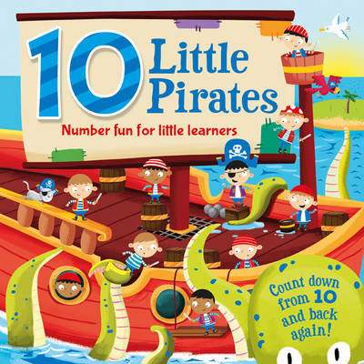 10 Little Pirates (Hardback)
