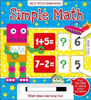 Simple Math - Answer & Reveal 5+ (Board book)