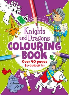 Knights - Awesome Colouring (Paperback)
