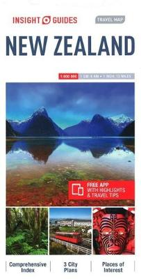 Insight Guides Travel Map of New Zealand, New Zealand Travel Guide - Insight Travel Maps (Sheet map)