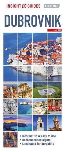Insight Guides Flexi Map Dubrovnik - Insight Flexi Maps (Sheet map)