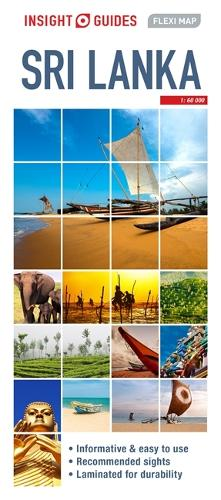 Insight Guides Flexi Map Sri Lanka - Insight Flexi Maps (Sheet map)