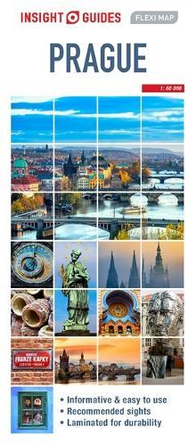 Insight Guides Flexi Map Prague - Insight Flexi Maps (Sheet map)