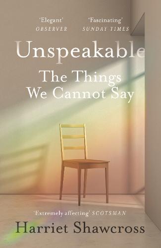 Unspeakable By Harriet Shawcross Waterstones