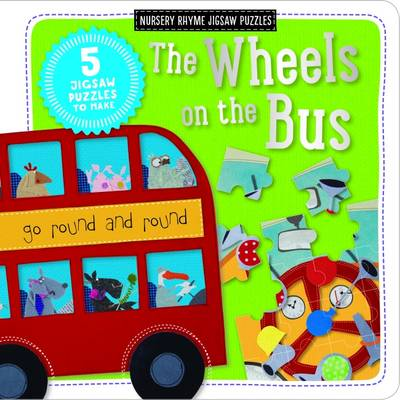 The Wheels on the Bus: Kate Toms Jigsaw Book (Board book)