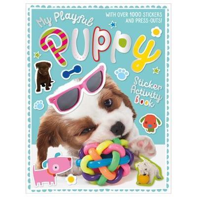 My Playful Puppy Sticker Activity Book (Paperback)