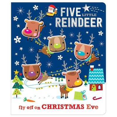 Five Little Reindeer (Board book)