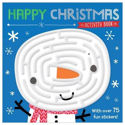Happy Christmas Activity Book (Paperback)