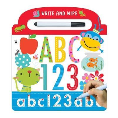 Write and Wipe ABC 123 (Board book)