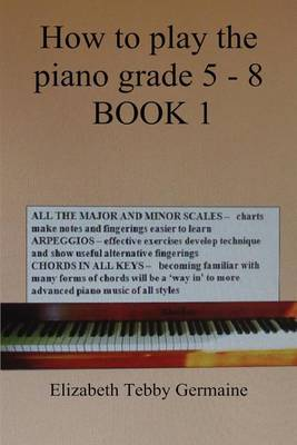 How to play the piano Grade 5 - 8 BOOK 1 (Paperback)