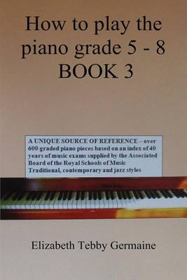 How to play the piano Grade 5 - 8 BOOK 3 (Paperback)