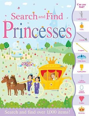 Search and Find Princesses - Search and Find (Paperback)