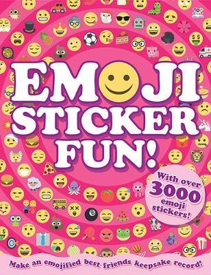 Emoji Sticker Fun! - A4 Activity Books (Paperback)