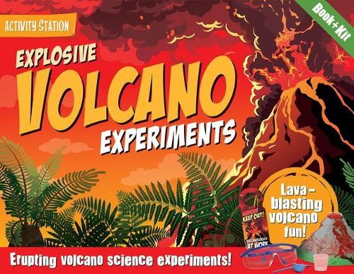 Explosive Volcano Experiments - Activity Station Gift Boxes (Paperback)